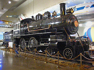 Empire State Express - No. 999 preserved on static display at the Museum of Science and Industry in Chicago, photo from 2003.