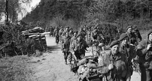9th (Eastern and Home Counties) Parachute Battalion - Men of the 9th Parachute Battalion in Germany.