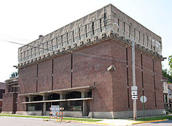 A. D. German Warehouse Richland Center Wisconsin-born Frank Lloyd Wright.jpg
