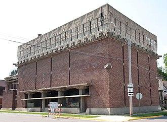 A. D. German Warehouse - Image: A. D. German Warehouse Richland Center Wisconsin born Frank Lloyd Wright