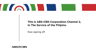 Sign-on and sign-off Beginning and ending of operations for a radio or television station