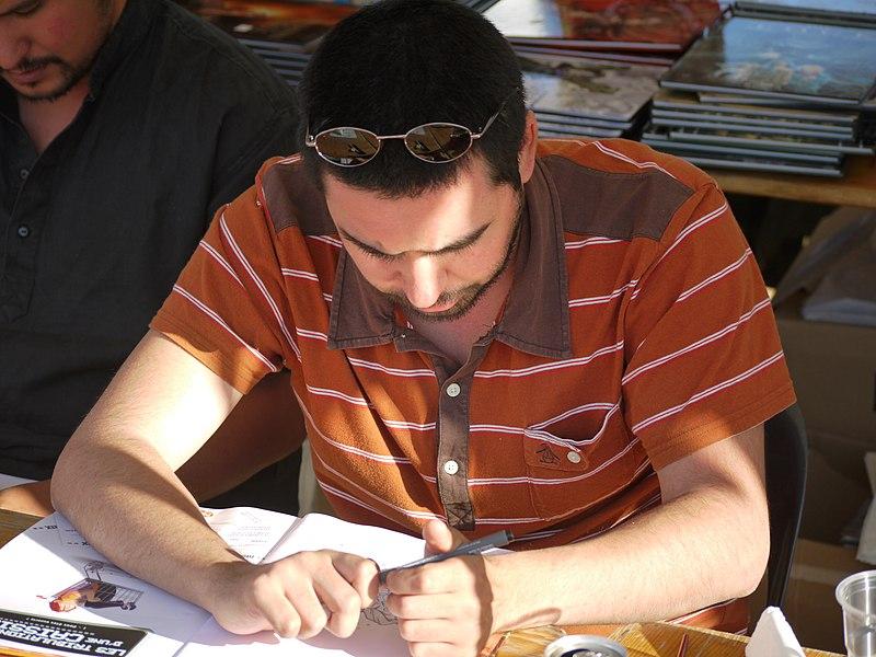 Photograph taken during the first edition of 'Bulles en Seyne' (2009) in La Seyne sur Mer, France.