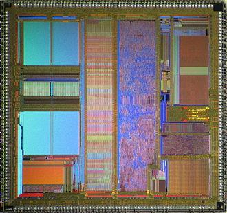 Am486 - AMD Am486 DX2-66 die shot