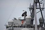 AN SPG-62 radar on board bridge of USS Curtis Wilbur (DDG-54) at U.S. Fleet Activities Yokosuka April 30, 2018.jpg