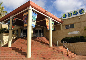 Aquarium of Western Australia - Front Entrance to AQWA