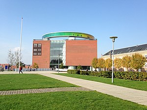 Concert Hall Park, Aarhus - Image: A Ro S Aarhus Kunstmuseum