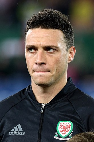 James Chester - Chester lining up for Wales in 2016
