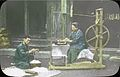 A Farmer and his Wife Weighing and Reeling Silk (4788358750).jpg