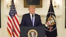 Archivo: Un mensaje del presidente Donald J. Trump el 7 de enero de 2021.webm