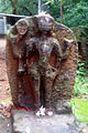 A Relief near shiva temple in Madhavadhara.JPG