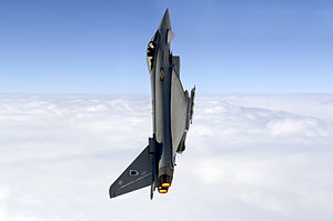 No. 11 Squadron RAF - A Eurofighter Typhoon of 11 Squadron