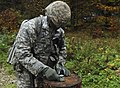 A U.S. Soldier assigned to the 2nd Cavalry Regiment competes with Soldiers from other units during the land navigation day course as part of the Expert Infantryman Badge Competition at Grafenwoehr Training Area 141020-A-EM105-758.jpg
