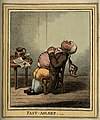 A man fast asleep with his head back and wig dangling. Colou Wellcome V0010878.jpg