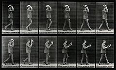 A man taking off his hat. Photogravure after Eadweard Muybri Wellcome V0048631.jpg