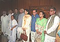 A nine-member delegation of parliamentarians from Pakistan with the Speaker Lok Sabha with Shri Somnath Chatterjee, in New Delhi on August 24, 2005.jpg