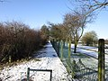 A path leading towards Wolferton Road, Anlaby (geograph 3314216).jpg