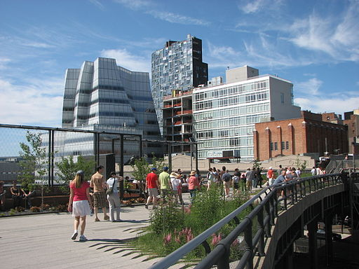 A visit to the High Line park