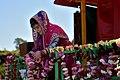 A woman preparing chariot for Ratha Yatra Jagannath.jpg