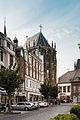 Aachen - Hartmannstraße mit Blick auf den Dom.jpg