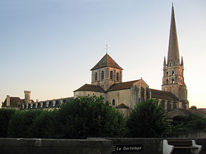 Saint-Savin, Vienne - Abbey Church of Saint-Savin-sur-Gartempe