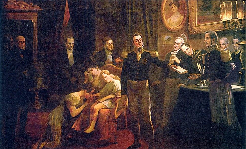 Abdicacao Pedro I do Brasil