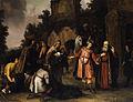 Abraham van Dijck Der Prophet Elisa weist Naamans Gaben zurück c1655.jpg