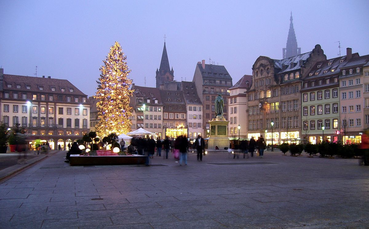 Centre Ville Strasbourg Carte
