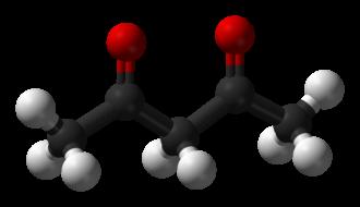 Acetylacetone - Image: Acetylacetone keto 3D balls