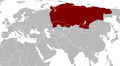 Verbreitungsgebiet des Sibirischen Störs