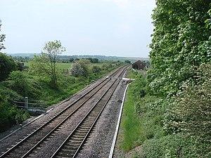 Ackworth railway station - Image: Ackworth railway station by Bill Henderson