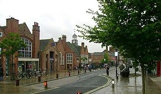 Acomb, North Yorkshire - Image: Acomb Shops