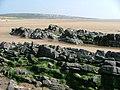Across Traeth yr Afon towards Ogmore-by-Sea - geograph.org.uk - 426106.jpg