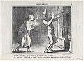 Adèlaïde...Il me semble que je vois...la comète! (Adelaide...I think I see the comet!), from Croquis Parisiens, published in Le Charivari, February 18, 1857 MET DP876635.jpg