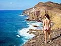 Admiring the cliffs over Cabo de Gata.jpg