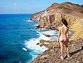 Admiring the cliffs over Cabo de Gata.jpg