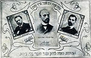 History of the Technion – Israel Institute of Technology - Flyer advocates the use of Hebrew.