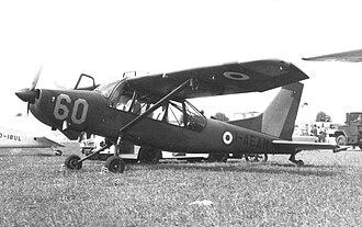 Aermacchi AM.3 - The AM 3 prototype displayed at the Paris Air Salon in June 1967