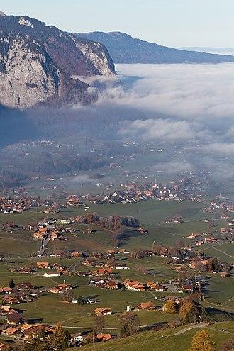 Aeschi bei Spiez - Aeschi bei Spiez village