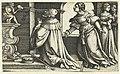 Afgoderij van Salomo Verhalen uit het Oude Testament (serietitel), RP-P-OB-10.981.jpg