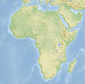 Топографическая карта африки