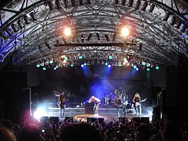 After Forever live in Circo Voador