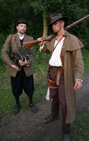 Live action role-playing game - Players dressed in character for a LARP event