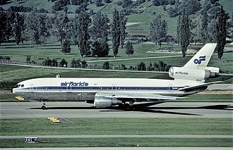 Air Florida - McDonnell Douglas DC-10-30 in 1981