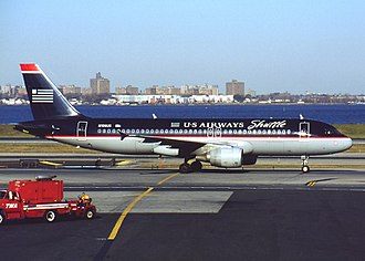 US Airways Flight 1549 - N106US at LaGuardia in 2001