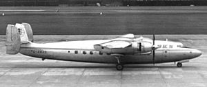 Airspeed Ambassador - BKS Air Transport Ambassador G-AMAD in 1965