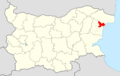 Aksakovo Municipality Within Bulgaria.png