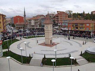 Akyurt District in Central Anatolia, Turkey