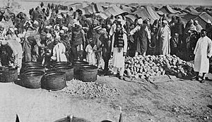 Italian concentration camps in Libya - Ten thousand inmates were kept at the concentration camp in El Agheila.