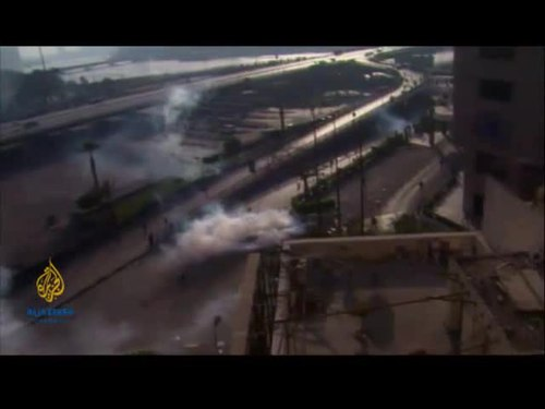 Fichier:Al jazeera 2011 egypt protests.ogv