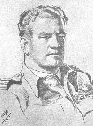 Alan Christopher Deere - Portrait of Alan Deere by Cuthbert Orde, 1941